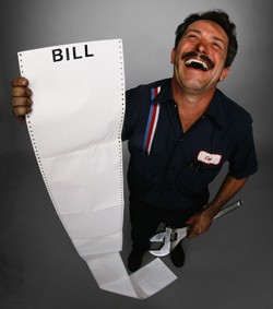 laughing mechanic bill