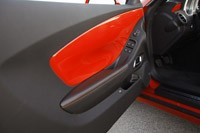 2011 Chevrolet Camaro SS Convertible interior door panel