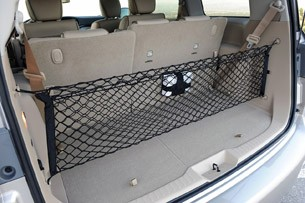 2011 Nissan Quest rear cargo area