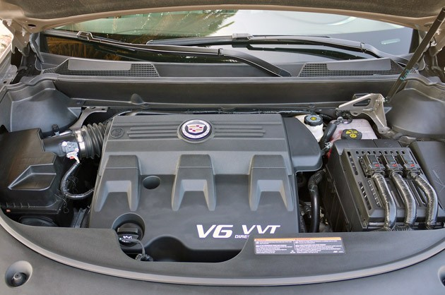 2012 Cadillac SRX engine