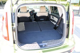 2012 Kia Soul rear cargo area