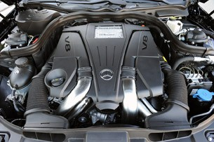 2012 Mercedes-Benz CLS550 engine