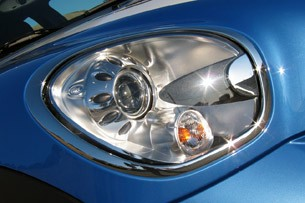 2011 Mini Cooper S Countryman All4 headlight