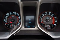 2011 Chevrolet Camaro SS Convertible gauges