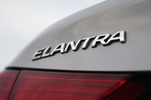 2011 Hyundai Elantra Limited badge