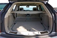2012 Cadillac SRX rear cargo area