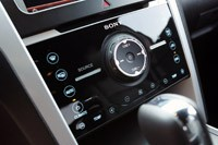 2012 Ford Explorer EcoBoost audio and climate controls