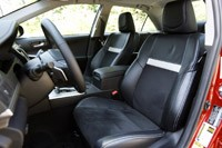 2012 Toyota Camry front seats