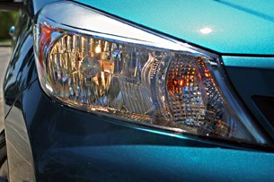 2012 Toyota Yaris headlight