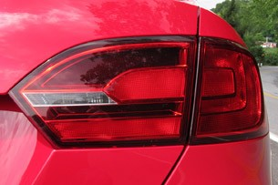 2012 Volkswagen Jetta GLI taillights