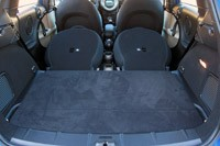 2011 Mini Cooper S Countryman All4 rear cargo area
