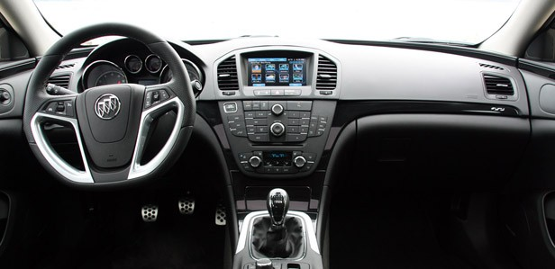 2012 Buick Regal GS interior