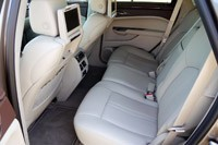 2012 Cadillac SRX rear seats