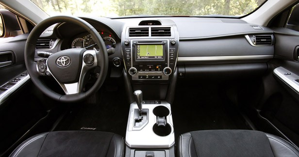 2012 Toyota Camry interior
