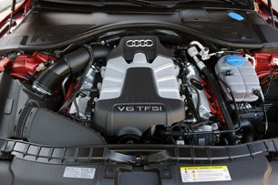 2012 Audi A7 3.0T engine