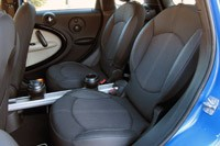 2011 Mini Cooper S Countryman All4 rear seats