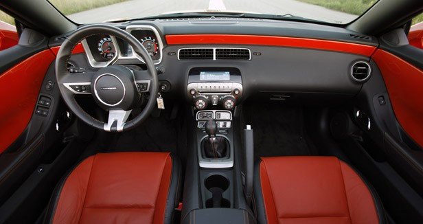 2011 Chevrolet Camaro SS Convertible interior