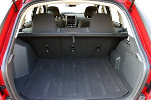 2011 Dodge Caliber Heat rear cargo area