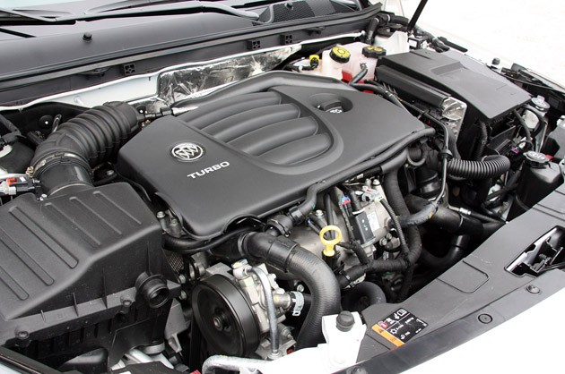2012 Buick Regal GS engine