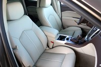 2012 Cadillac SRX front seats