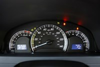 2012 Toyota Camry gauges