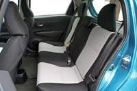 2012 Toyota Yaris rear seats