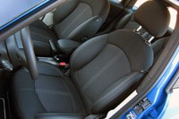 2011 Mini Cooper S Countryman All4 front seats