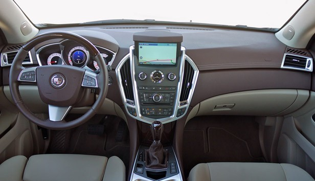 2012 Cadillac SRX interior