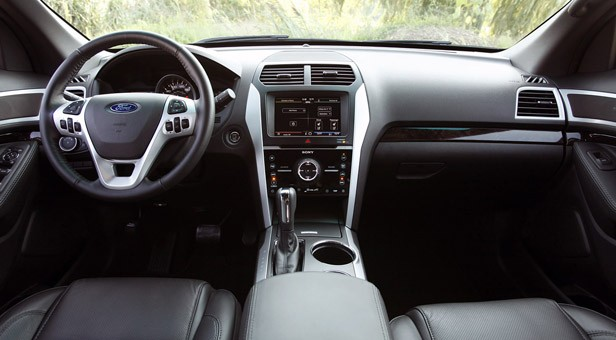 2012 Ford Explorer EcoBoost interior