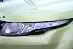 2012 Range Rover Evoque headlight