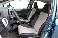 2012 Toyota Yaris front seats