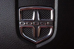 2011 Dodge Charger Rallye V6 badge