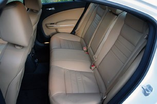 2011 Dodge Charger Rallye V6 rear seats