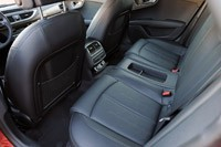 2012 Audi A7 3.0T rear seats