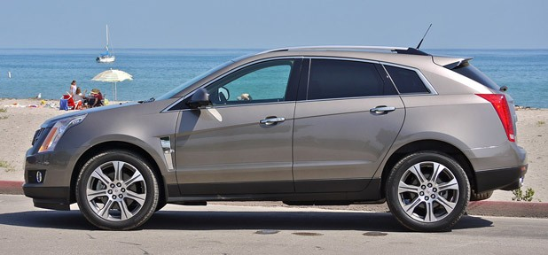 2012 Cadillac SRX side view