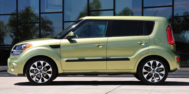 2012 Kia Soul side view