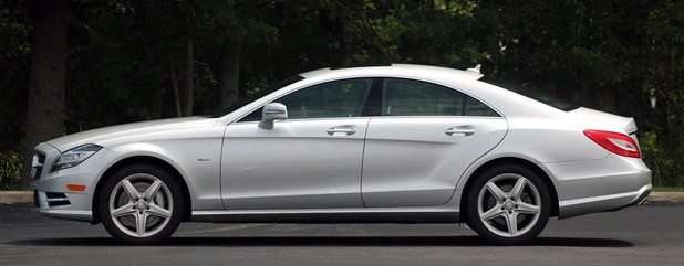 2012 Mercedes-Benz CLS550 side view
