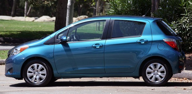 2012 Toyota Yaris side view