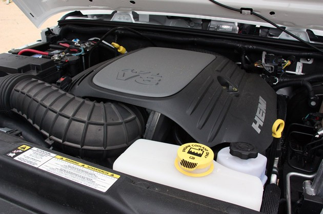 2011 AEV Jeep Wrangler Hemi engine