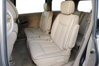 2011 Nissan Quest rear seats
