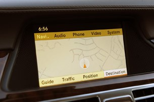 2012 Mercedes-Benz CLS550 navigation system
