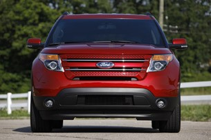 2012 Ford Explorer EcoBoost front view