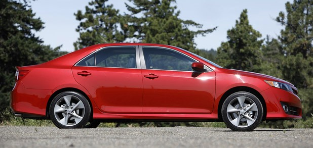 2012 Toyota Camry side view