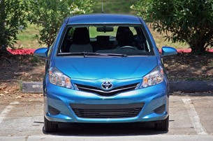 2012 Toyota Yaris front view