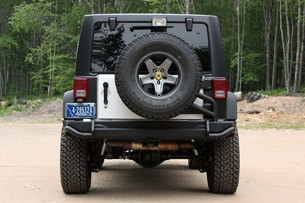 2011 AEV Jeep Wrangler Hemi rear view