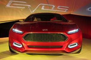 Ford Evos Concept front view