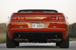 2011 Chevrolet Camaro SS Convertible rear view