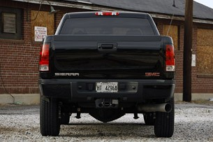 2011 GMC Sierra Denali rear view