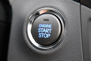 2011 Hyundai Elantra Limited start button