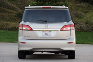2011 Nissan Quest rear view